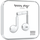 Happy Plugs Earbuds Plus with Mic - White BP