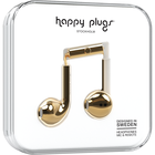 Happy Plugs Earbuds Plus with Mic - Gold BP