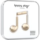 Happy Plugs Earbuds Plus with Mic - Matte Gold BP