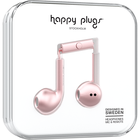 Happy Plugs Earbuds Plus with Mic - Pink Gold BP