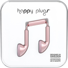 Happy Plugs Earbuds with Mic - Pink Gold BP