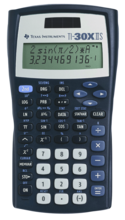 TI 30X IIS Scientific Calculator