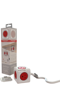 Allocacoc PowerCube Extended with Surge Protection
