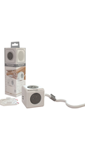 Allocacoc PowerCube Extended USB with Surge Protection
