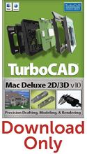 IMSI TurboCAD Mac Deluxe 2D/3D v10