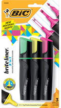 BIC Brite Liner 3-in-1 Tank Style Highlighter