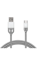 iHome Nylon Micro USB Cable with Enhanced Strain Relief
