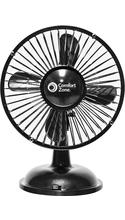 Comfort Zone Oscillating USB/Battery Desk Fan