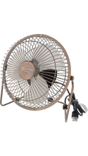 Comfort Zone High Velocity USB Desk Fan