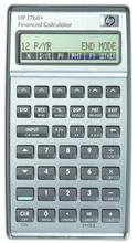 HP 17BII Plus Financial Calculator