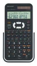 Sharp EL-520X Advanced Scientific Calculator