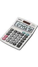 Casio MS-80TV Simple Desktop Calculator