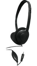 Avid Products AE-711 On-Ear Headphones with Volume Control