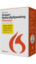 Nuance Dragon Naturally Speaking Premium 13.0 Student/Teacher