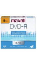Maxell DVD-R Recordable Disk