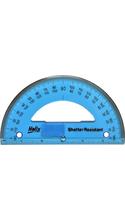 Helix 180 Degree Shatter-Resistant Protractor
