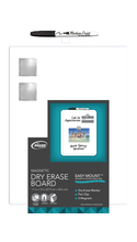 Board Dudes Plastic Framed Magnetic Dry-Erase Board