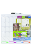 Board Dudes Color Code Your Life Unframed Magnetic Dry-Erase Cal Board