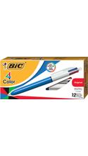 BIC 4-Color Retractable Ballpoint Pen