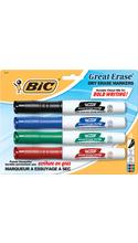 BIC Great Erase Grip Dry Erase Marker