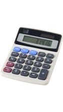 Charles Leonard Basic 8 Digit Desktop Calculator Counter Display