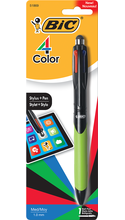 BIC 4-Color Grip Stylus and Ballpoint Pen
