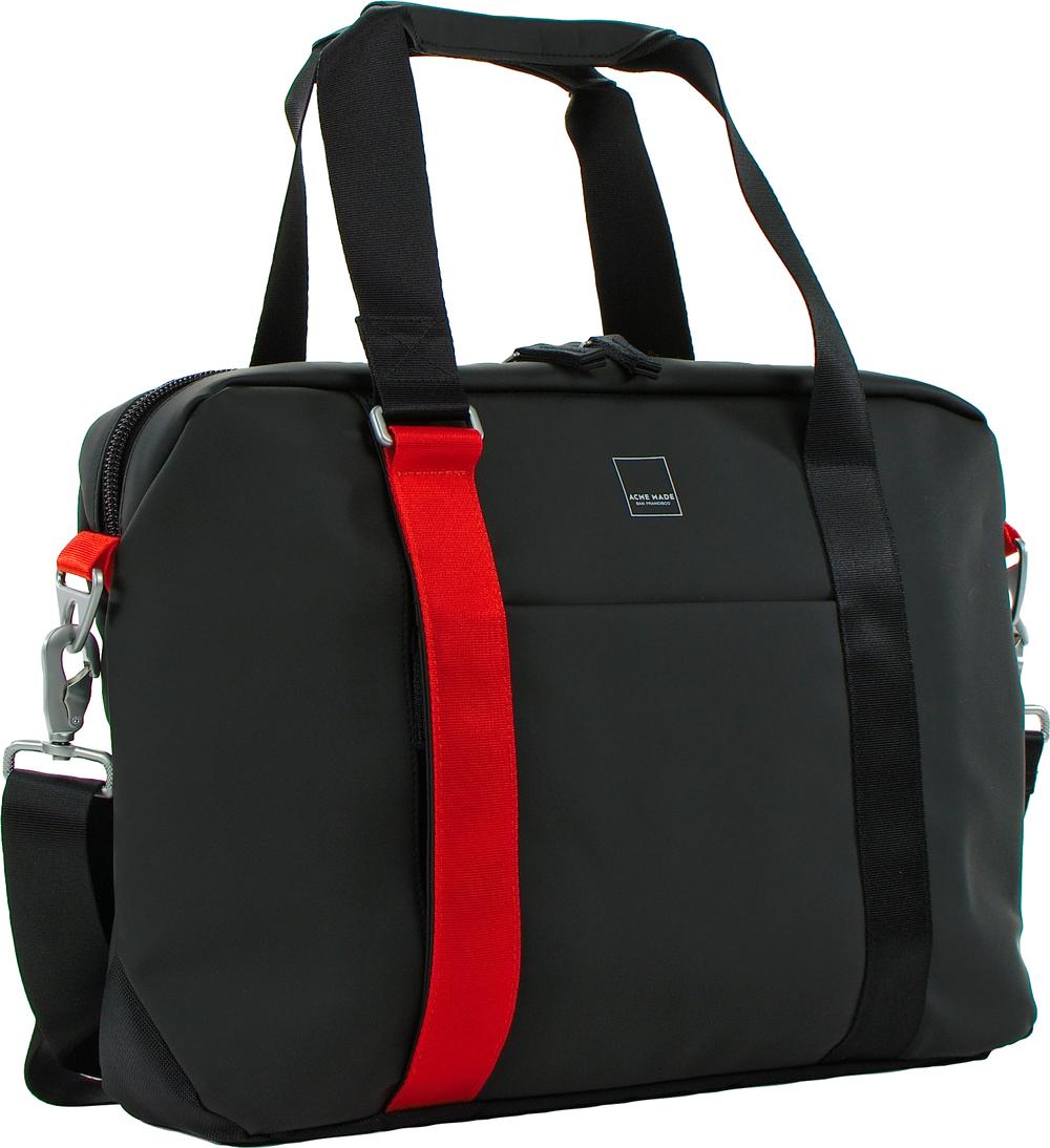 North Point Attache Messenger Bag  Matte Black