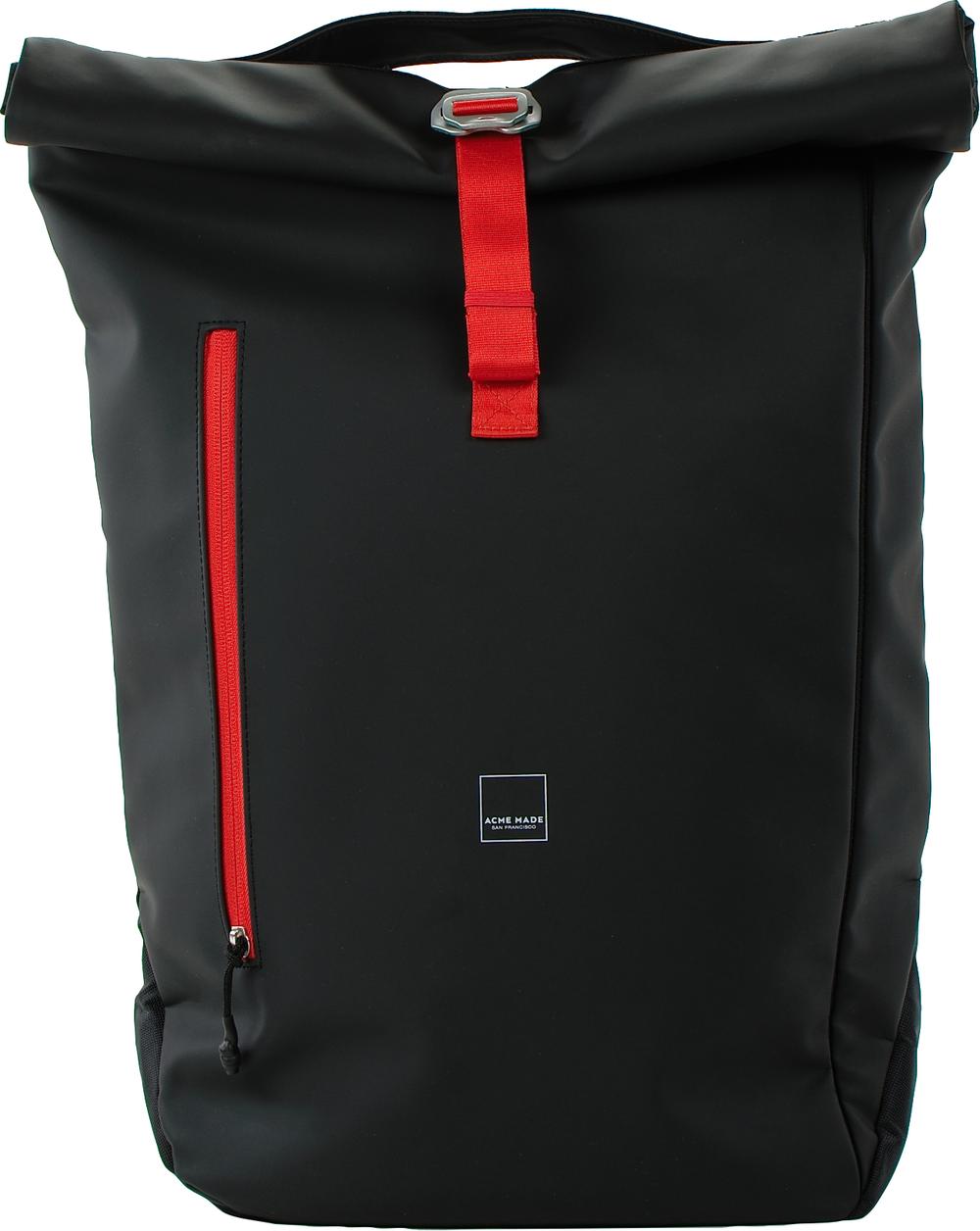 North Point Attache Roll-Top Daypack  Matte Black