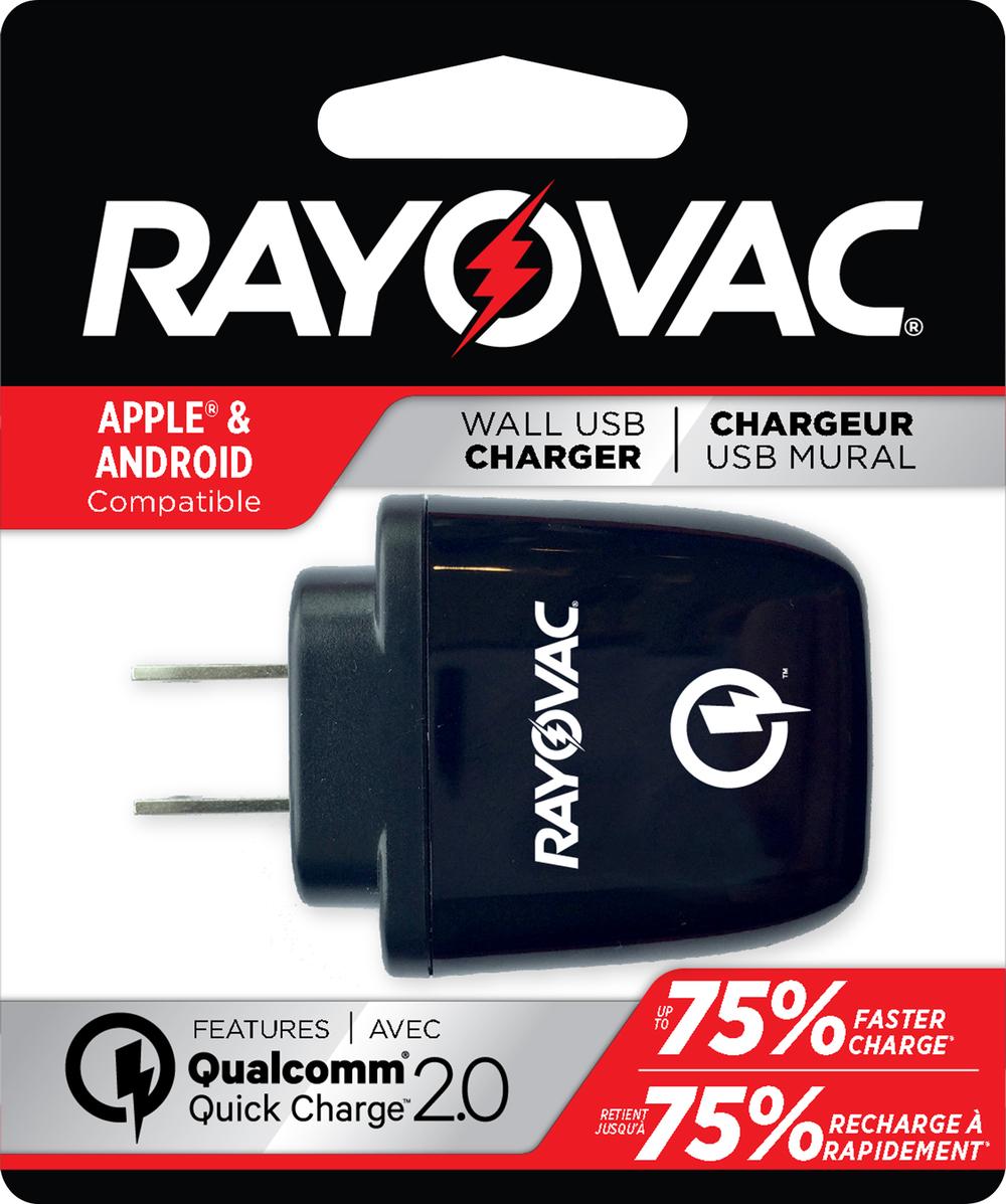 Qualcomm USB Wall Adapter  Black