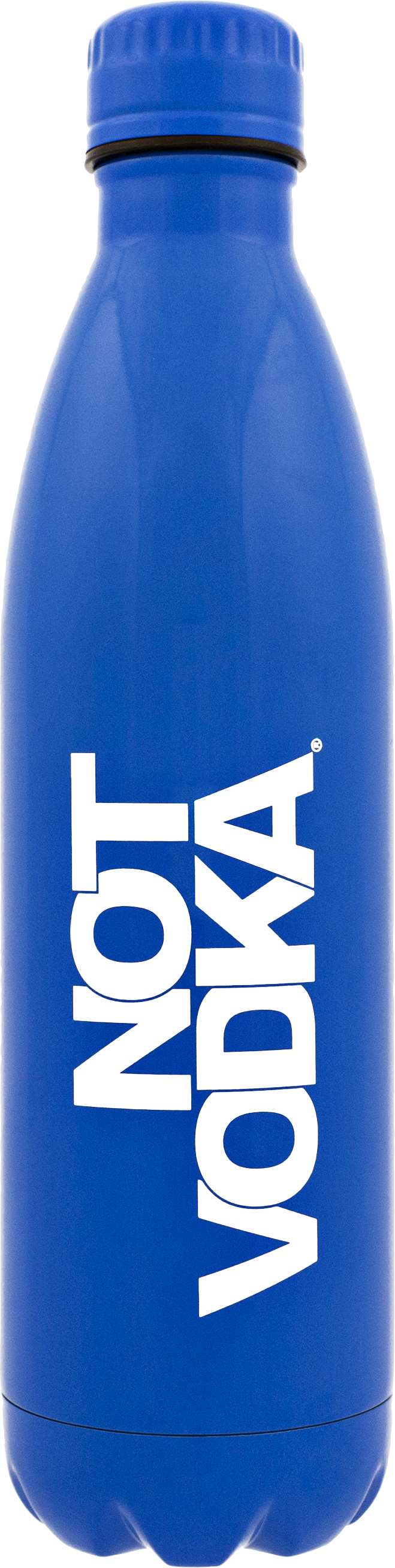 Signature Series Insulated Water Bottle Glossy Blue, PACKAGE 1Ct