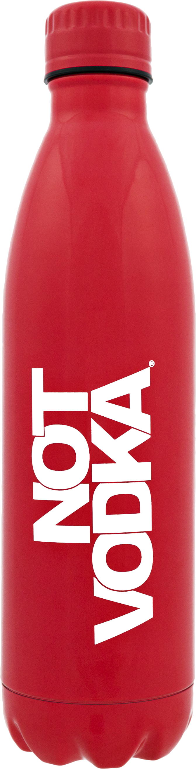 Signature Series Insulated Water Bottle Glossy Red, PACKAGE 1Ct