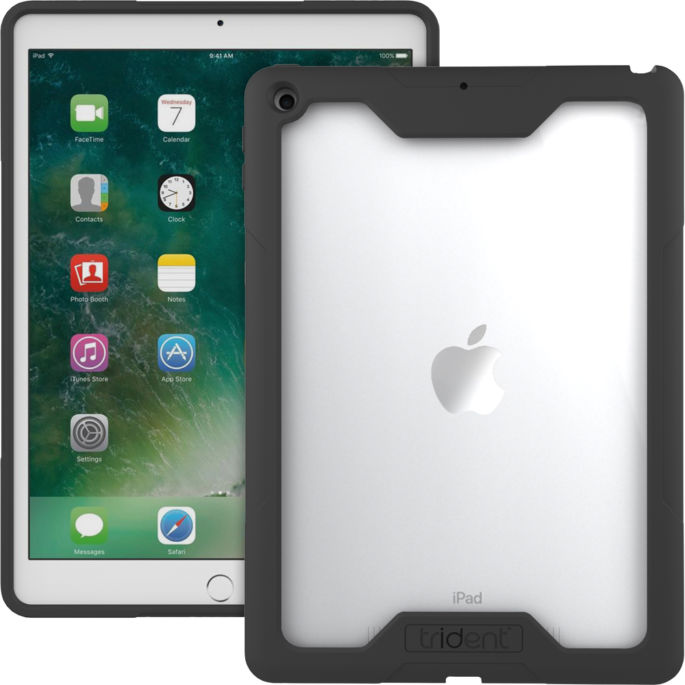Cyclops Case for Apple iPad Fits iPad Models A1893/A1954/A1822/A1823 Clear