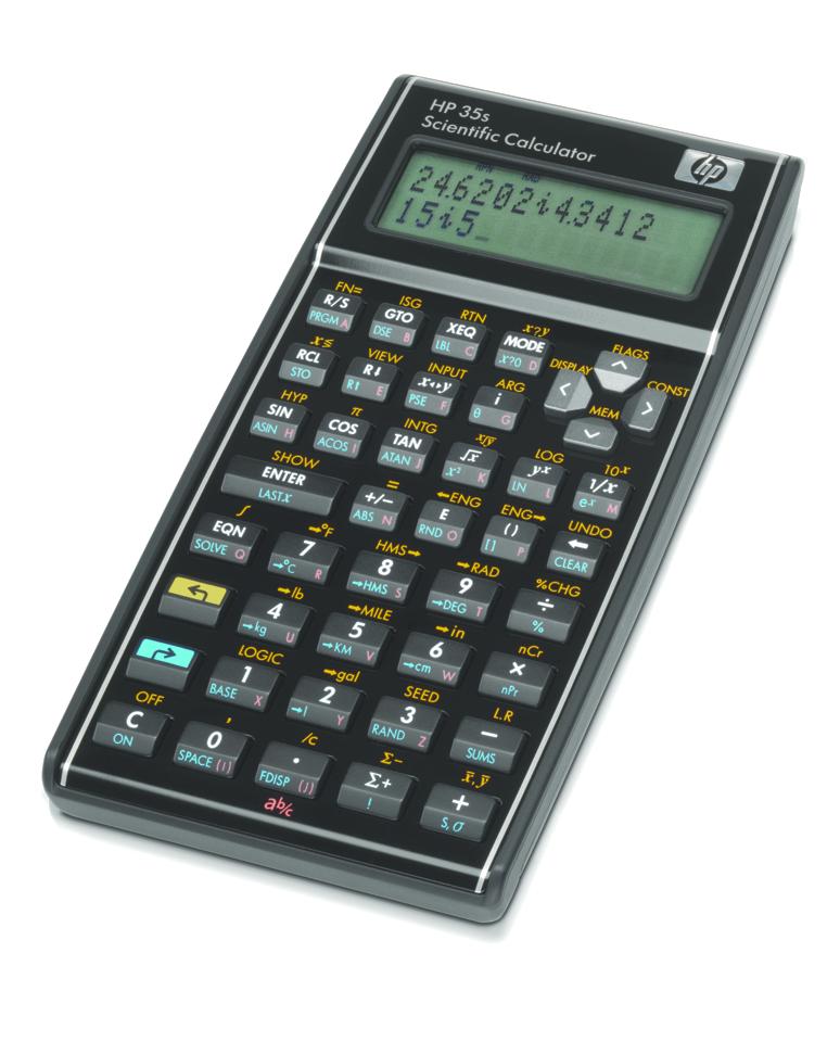 35S Scientific Calculator  Black, PACKAGE 1Pk
