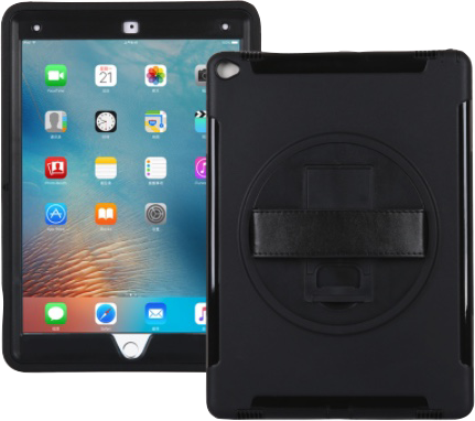Kraken Case for iPad Pro Includes Strap and Kickstand Black