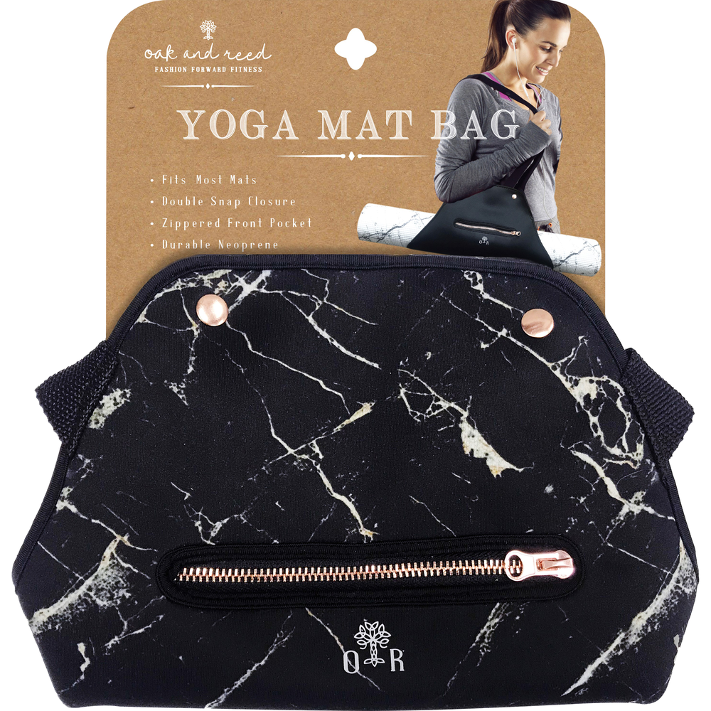 Neoprene Yoga Bag  Black Marble, PACKAGE 1Pk image