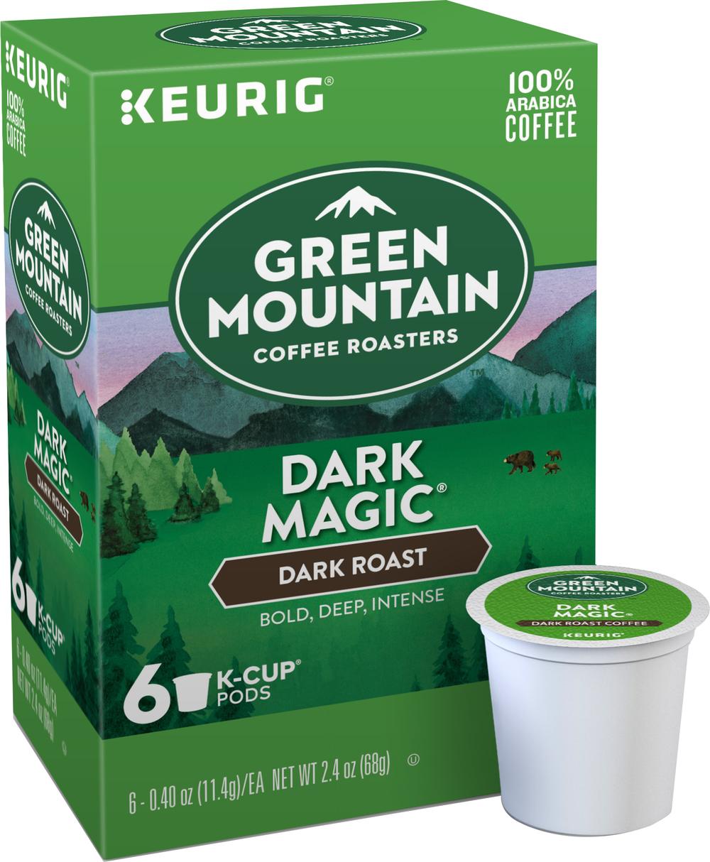 Green Mountain Coffee Roasters K-Cup Pod Dark Magic , PACKAGE 6Ct