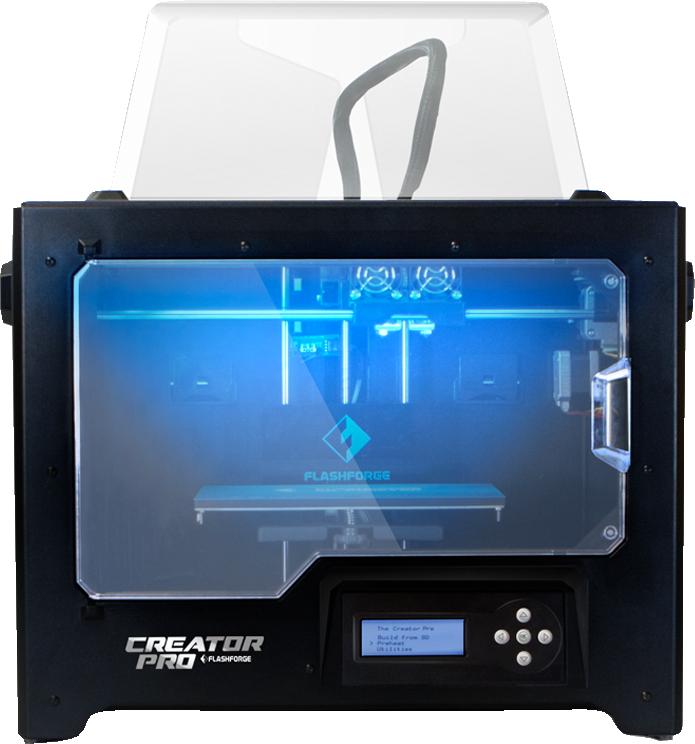 New Creator Pro 3D Printer  Black