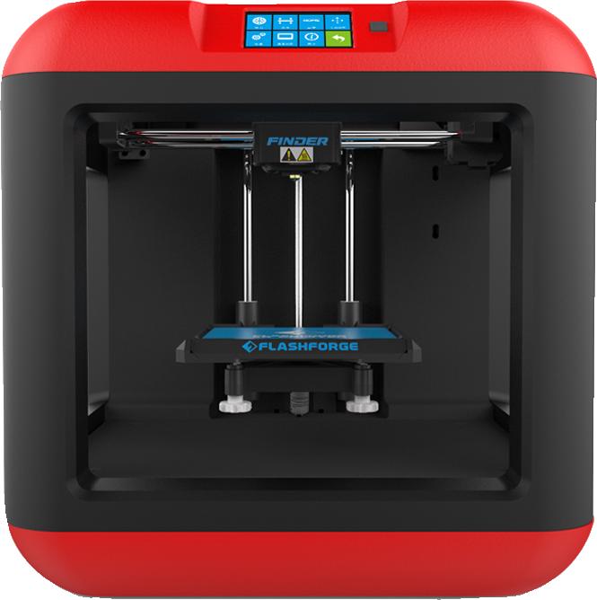 Finder 3D Printer  Red/Black