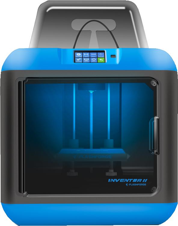 Inventor 2 3D Printer  Blue/Black