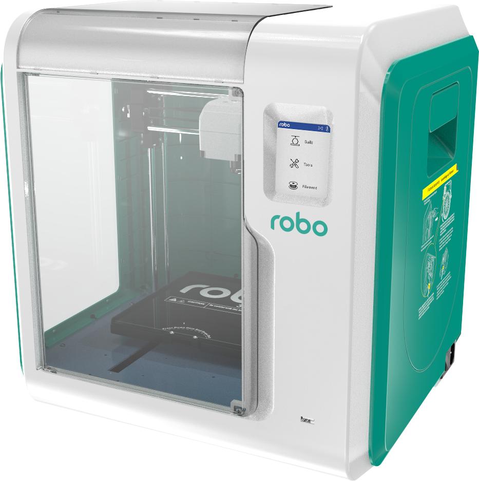 E3 Smart 3D Printer with WiFi  White/Green
