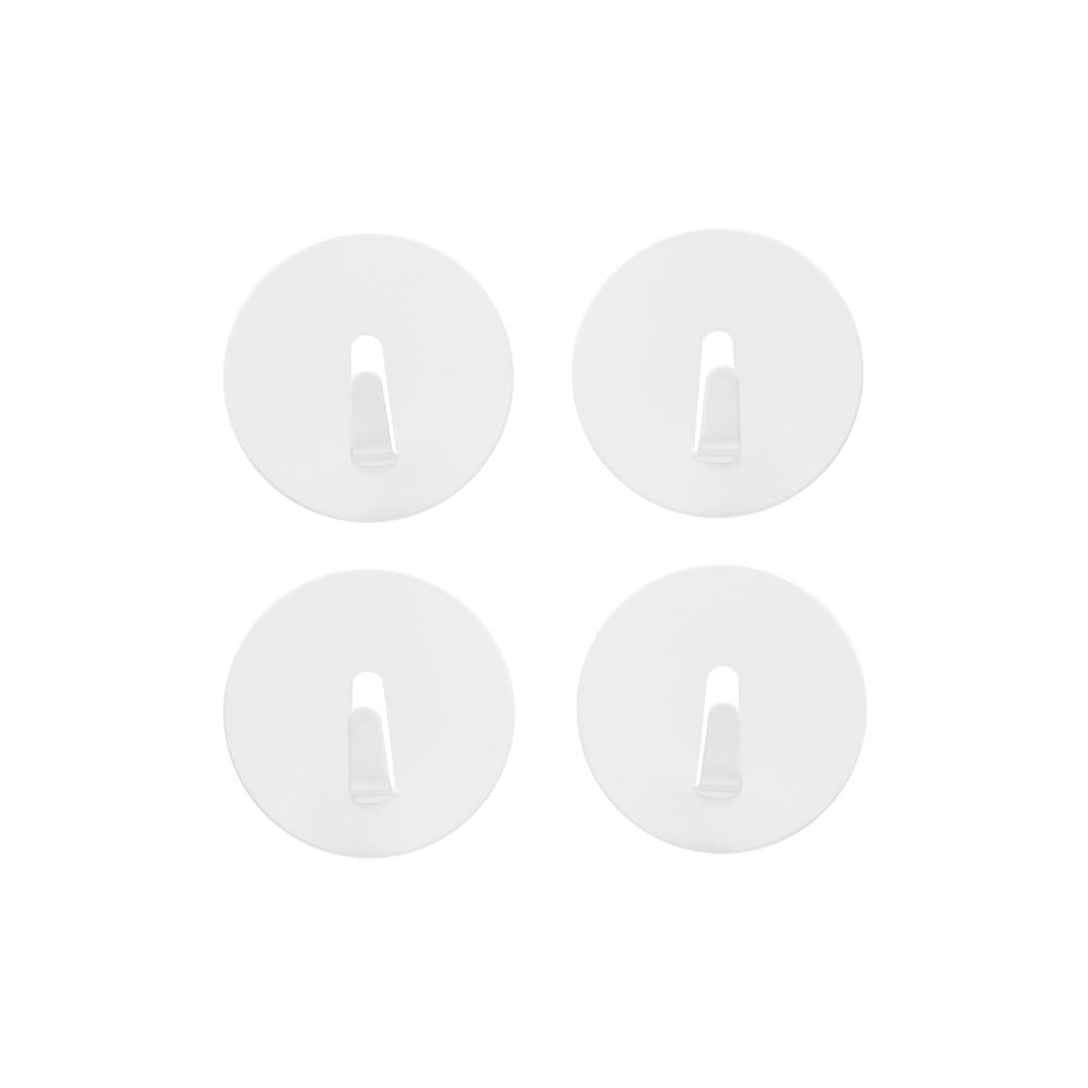 Spot On! Magnet Hook  White, PACKAGE 4Pk