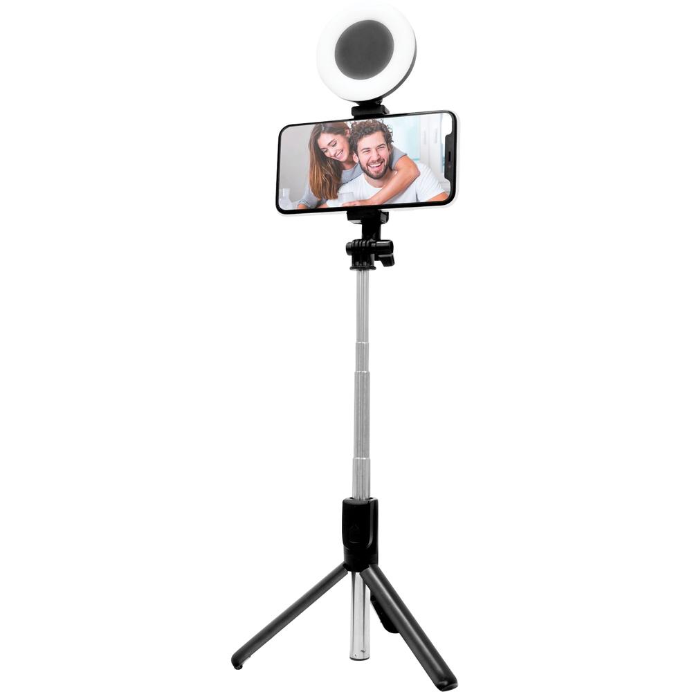 Tripod Selfie Stick  Black, PACKAGE 1Pk image