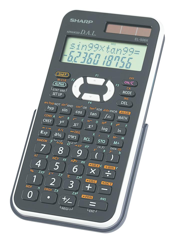 Home > Sharp EL-506X Advanced Scientific Calculator
