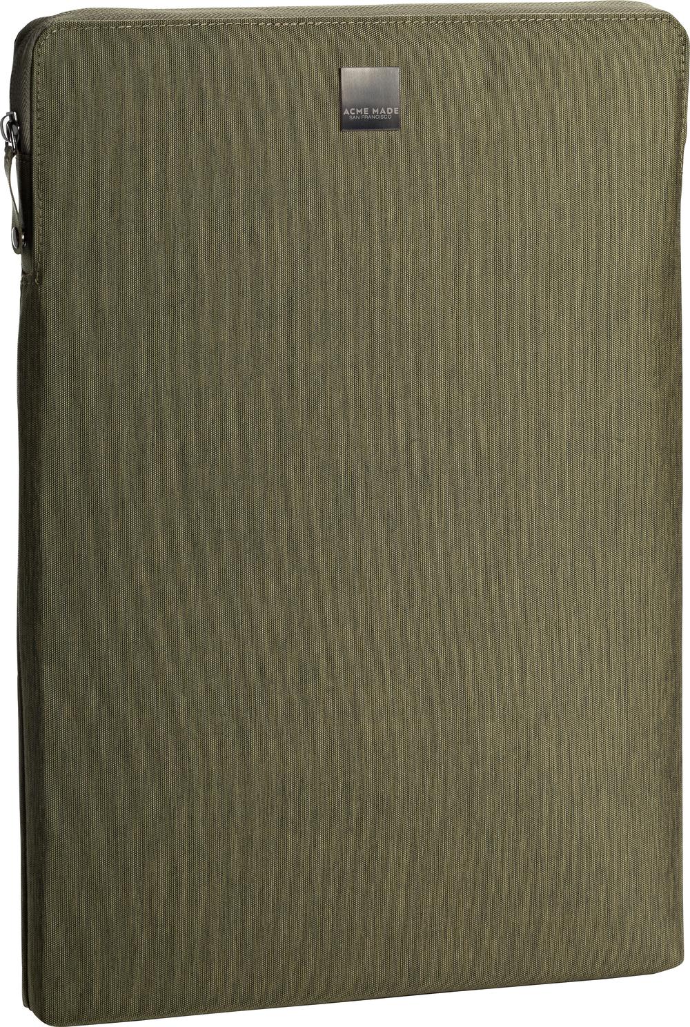 Acme Made Montgomery Street Sleeve MacBook Pro Olive Green