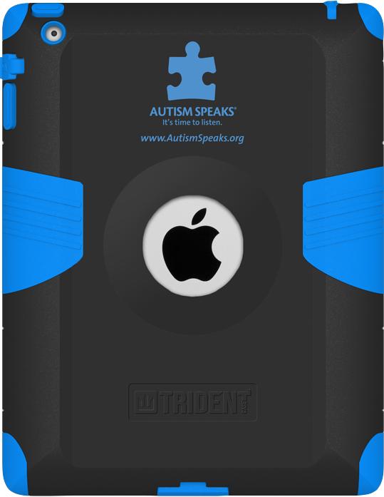Kraken AMS Case for iPad 2/3/4 Case for a Cause Blue