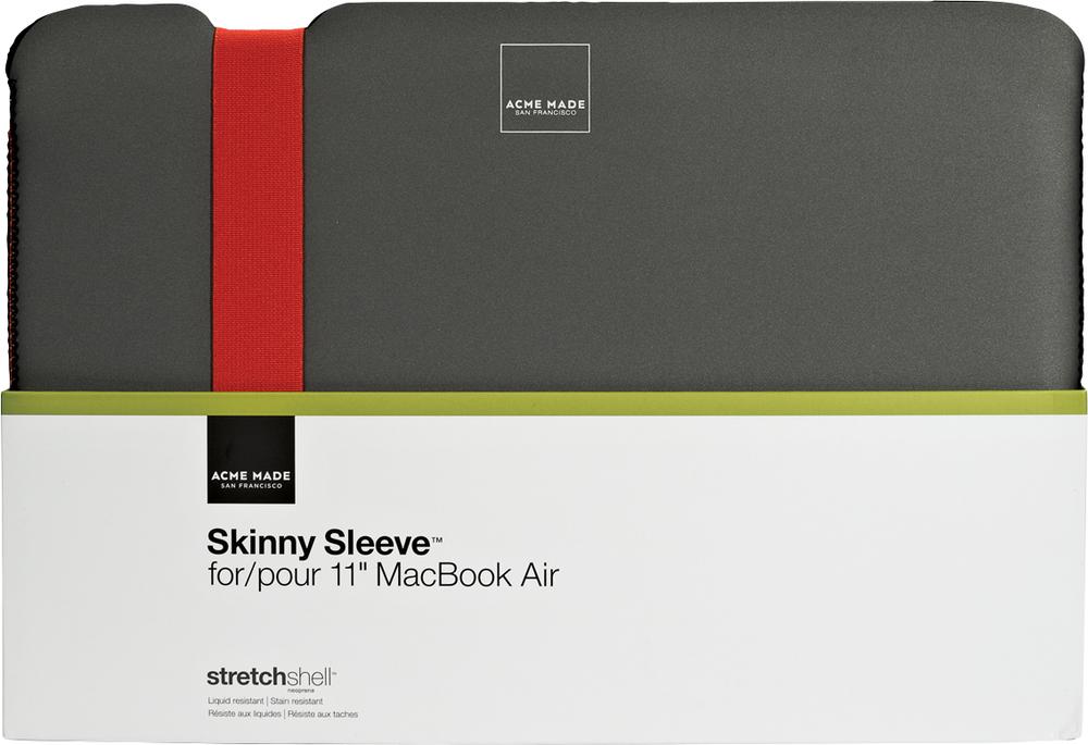 Acme Made Skinny Sleeve MacBook Air Grey/Orange